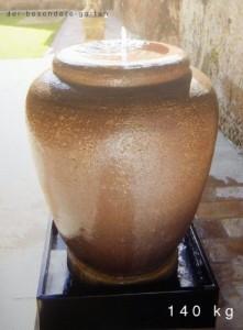 Gartenbrunnen zimmerbrunnen fontana bomarzo italien h86cm 140kg terrakotta keramik f r heim - Gartenbrunnen keramik ...
