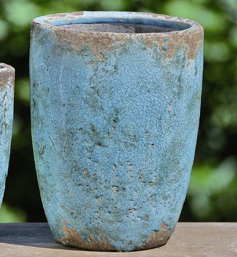 terracotta vase gef e terrakotta keramik f r heim k che garten balkon und terrasse. Black Bedroom Furniture Sets. Home Design Ideas